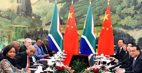 President Jacob Zuma and his delegation engaged with the Chinese government on a range of issues.