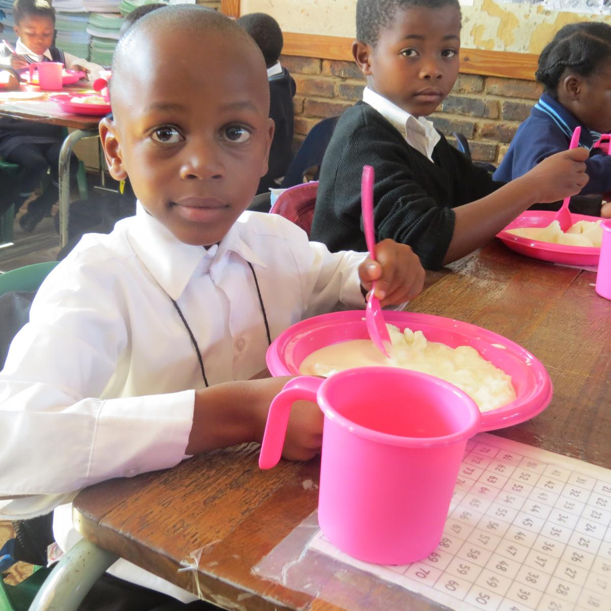 Millions of learners are benefiting from the AmaLunchbox initiative that provides meals at schools.
