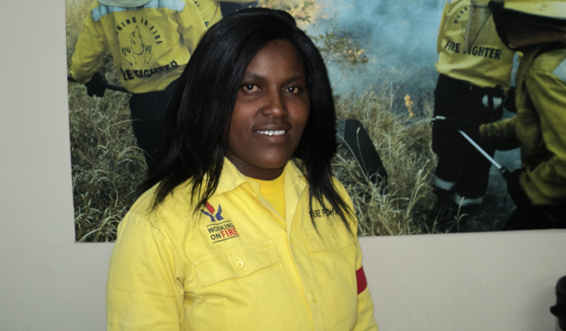 Lorraine Mokoena has benefited greatly from the WOF programme