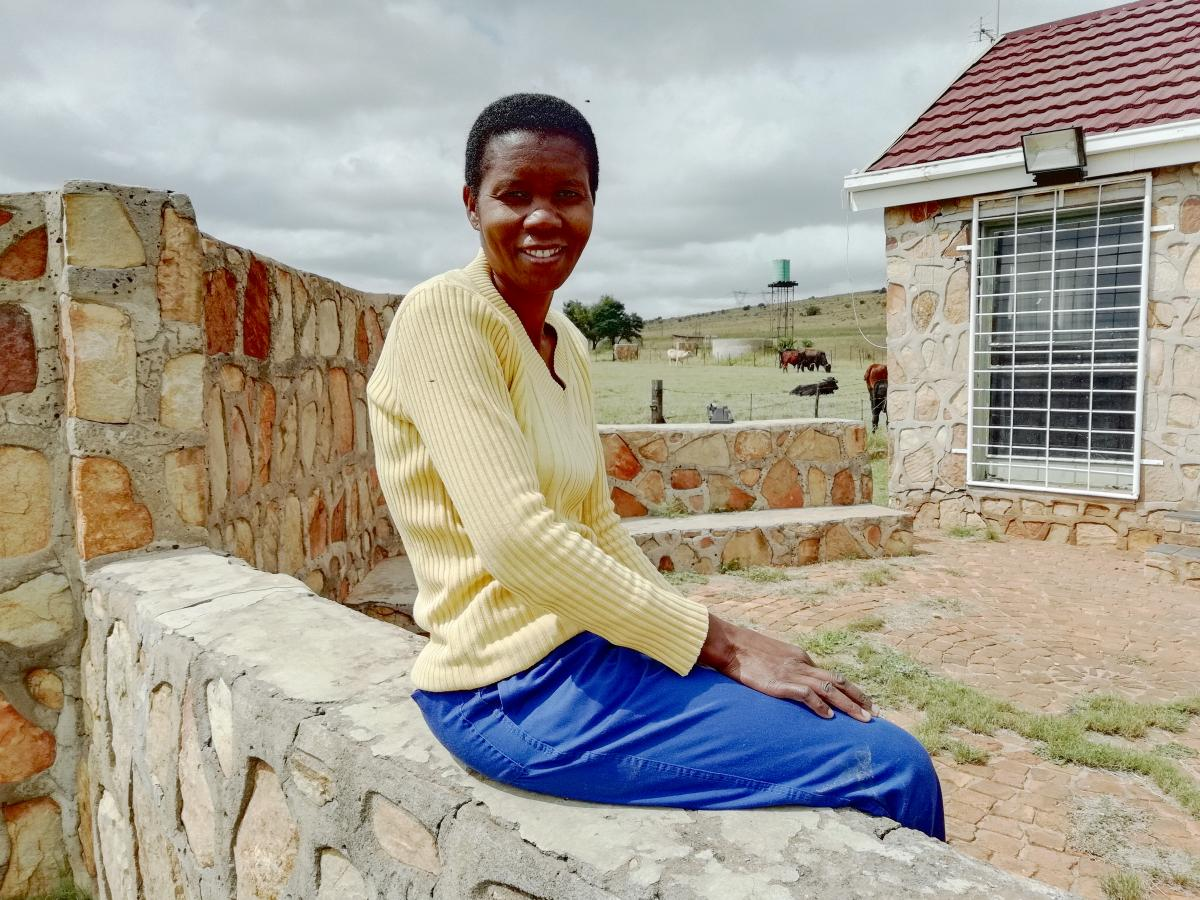 Betty Nyambi believes that every South African must play their part in food security.