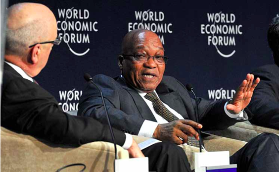 Photo caption: President Jacob Zuma highlighted the strides made by the African continent and the challenges it still had to overcome when he addressed the World Economic Forum on Africa in Cape Town recently.