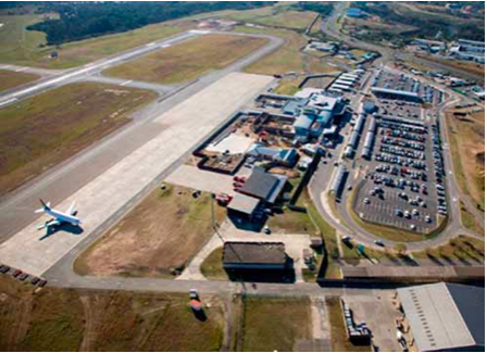 Photo caption: Upgrades to the Mthatha Airport are expected to be finalised by the end of the year. The runway is already complete and the airport terminal is 25 per cent complete.