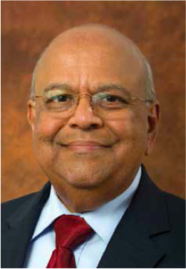 Coorperative Governence and Traditional Affairs Minister Pravin Gordhan.