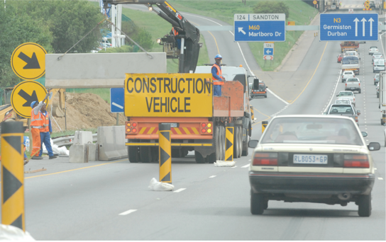 Photo caption: Major improvements have been made to South Africa's roads, ports and rail infrastructure over the past 20 years.