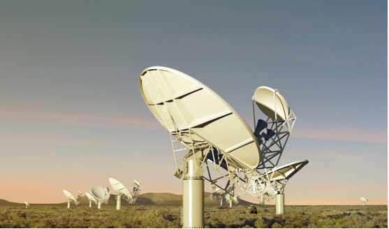 Photo caption: The Northern Cape will be home to 80 per cent of the Square Kilometre Array telescope.