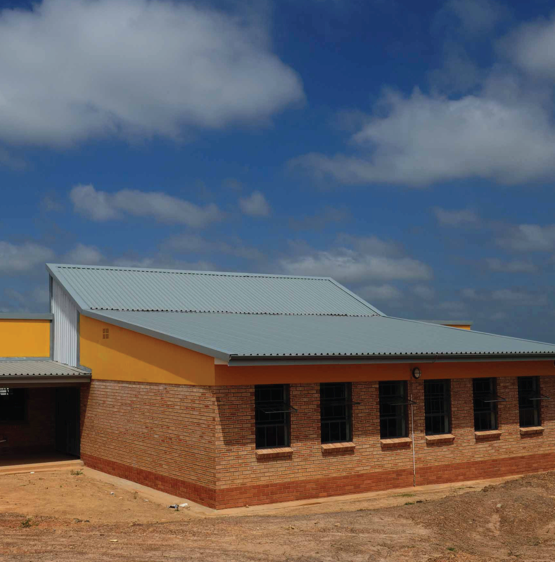 Photo caption: The Accelerated Schools Infrastructure Development Initiative (ASIDI) has resulted in a number of new schools being built, especially in the Eastern Cape.