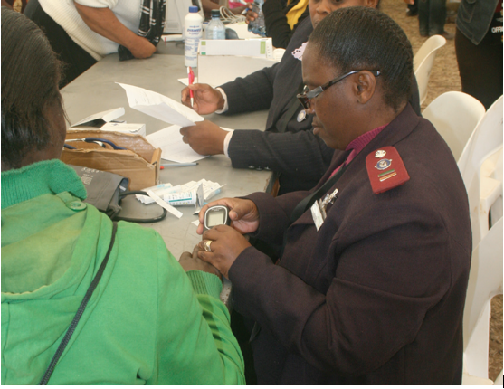 Photo caption: Government's HIV Counselling and Testing campaign has proved to be a huge success, with more 20.2 million South Africans getting tested.