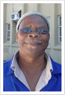 Charles Lewis, a SASSA beneficiary, uses his money wisely.