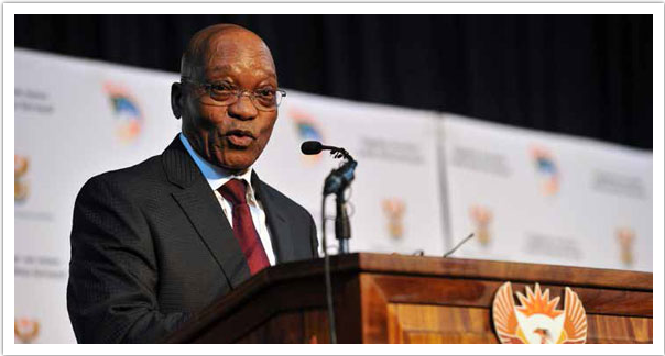 President Jacob Zuma addresses the President Local Government Summit in Gauteng.