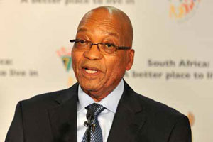 President Jacob Zuma says government is working hard to ensure that departments become more professional, people-centred and effective.