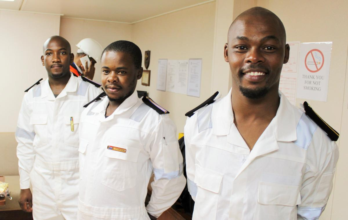 The Eastern Cape Maritime Youth Development Programme gives the youth skills and creates jobs in the maritime sector.
