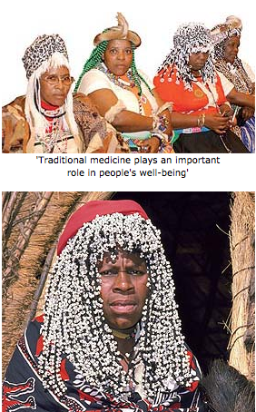TRADITIONAL HEALERS: TRAINED TO IDENTIFY SIGNS OF HIV/AIDS