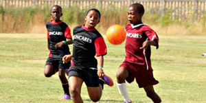 The Suncares Sports Academy soccer programme is providing young soccer players with opportunities to showcase their skills in soccer tournaments and inter-school leagues.