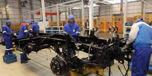 The newly opened First Automobile Works (FAW) plant in Port Elizabeth is expected to create a thousand jobs.
