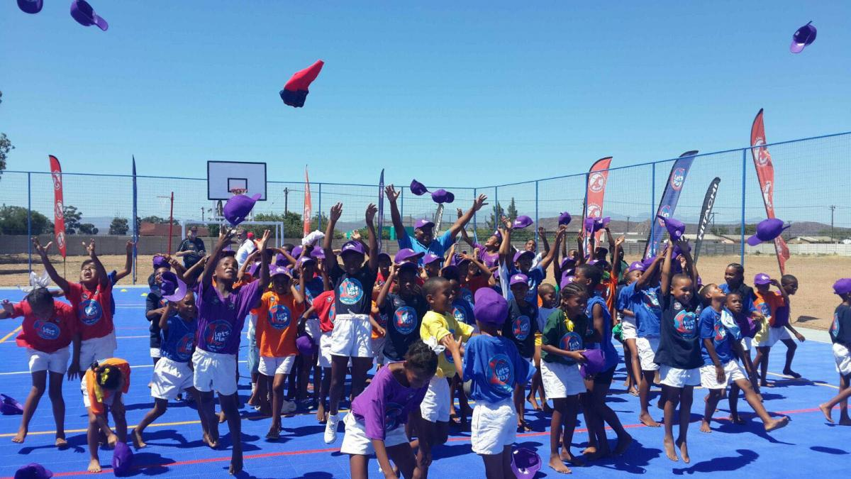 The Let's Play Physical Education Challenge helps school children to be active.
