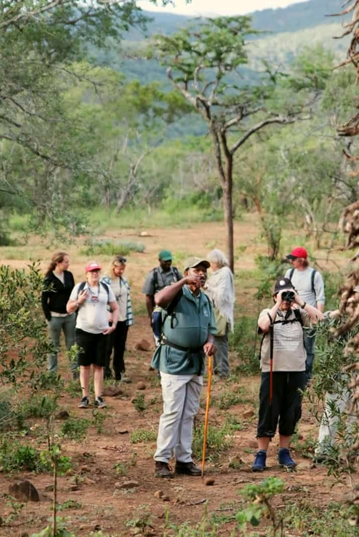 Some of the visitors who travelled from far to explore the beauty of Somkhanda private game reserve.