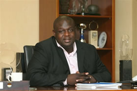 Steven Ngubeni, CEO of the NYDA.