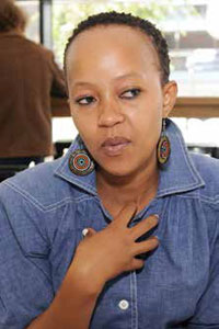 HIV and AIDS Activist Zandile Mqwathi