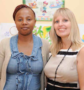 Nomsa Dombo and Advocate Lida van Schalkwyk are part of the team at the Mamelodi Thuthuzela Care Centre in Pretoria.