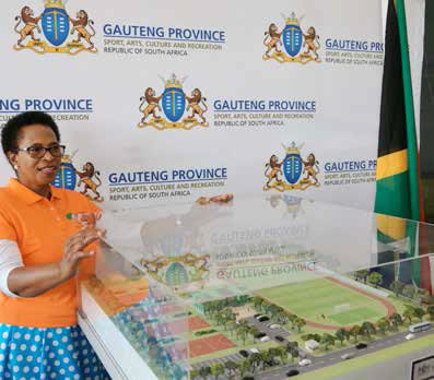 MEC Molebatsi Bopape says Operation Mabaleng will see the building of R10 million state-of-the-art multi-purpose sporting centres across Gauteng over the next five years.