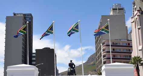 South Africa has one of the most recognisable flags in the world