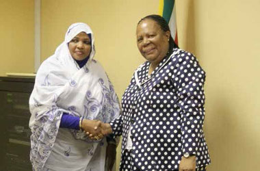 Science and Technology Minister Naledi Pandor and Minister Tahani Abdalia Attla from Sudan have agreed to boost certain sectors in both countries.