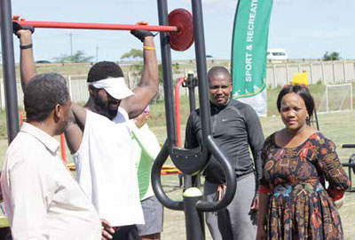 The Mtubatuba community can now live an active and a healthy lifestyle.