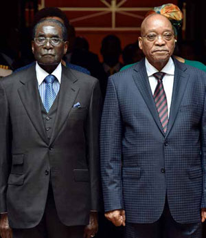President Jacob Zuma and President Robert Mugabe have signed agreements that will see the two countries working together.