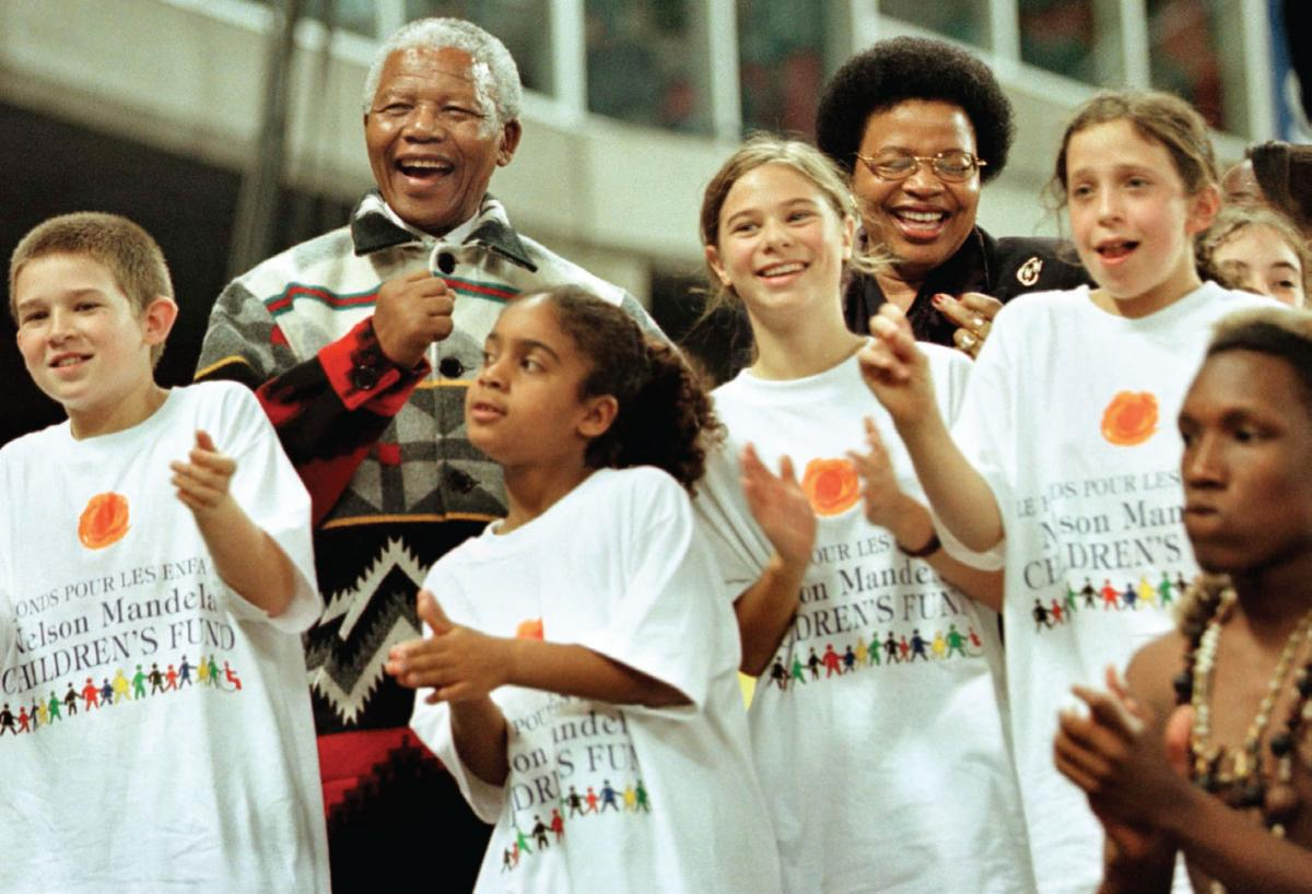 Late President Nelson Mandela spent his entire life serving people.