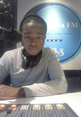 Young people like Chris Ndamase are benefiting from Nongoma FM, a community radio station in KwaZulu-Natal.