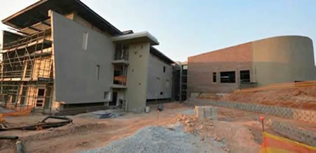 University of Mpumalanga under construction
