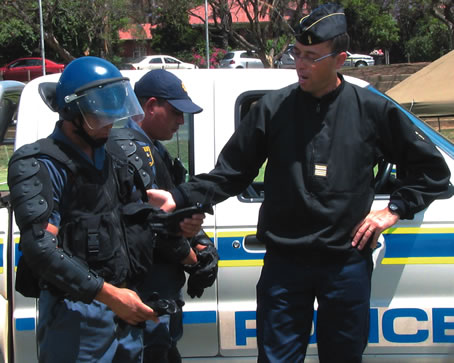Government is serious about fighting crime and corruption in the country.          Photos: South African Police Service
