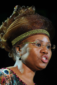Small Business Development Minister Lindiwe Zulu.