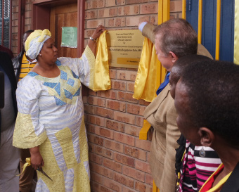 Deputy Minister of Social Development Hendrietta Bogopane-Zulu officially opened a new computer lab at Hope and Grace Lsen Special School in Limpopo.