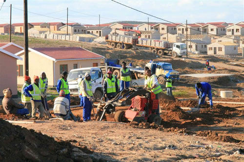 The Zanemvula mega-housing project in Chatty, Joe Slovo West, Soweto-on-Sea and Veeplaas in the Nelson Mandela Bay Metro.