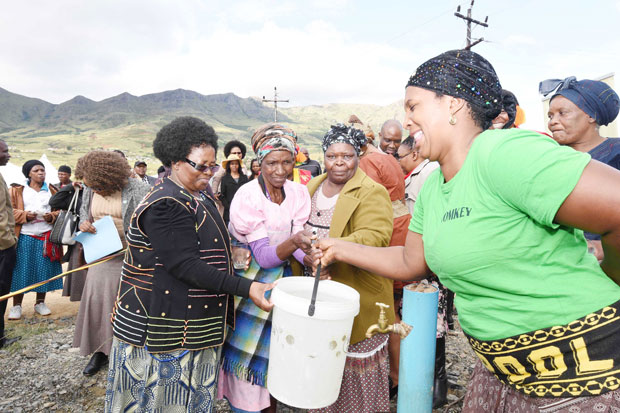 A recently launched water project will bring much-needed relief to the community of Bhanti village in the Eastern Cape.