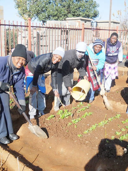 Ikaheng Project is changing the lives of people in Mafora, Bloemfontein.