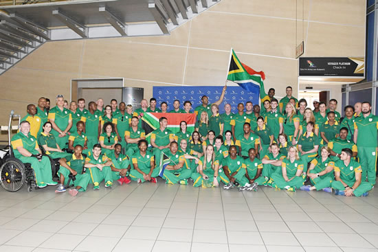 The South African Paralympic team plans to come back with a high number of medals from the Rio 2016 Paralympics.