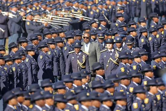 The new members of the South African Police Service will ensure that South Africans feel safer.