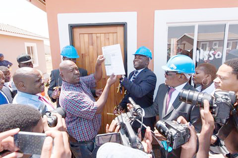 The Mega City Projects is providing homes for many residents in Tshwane.