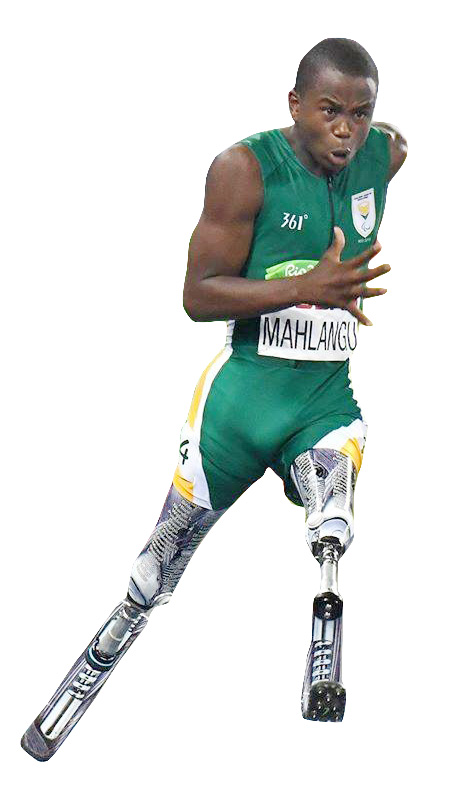 Paralympic silver medallist Ntando Mahlangu won one of the country's 17 medals at the Rio Paralympics in Brazil. The 14-year-old won his first paralympic medal in the 200m.