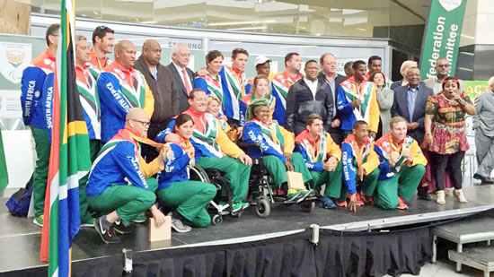 South Africa's Paralympic team flew the flag high at the recent Rio Paralympics in Brazil.