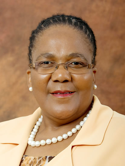 Minister Dipuo Peters
