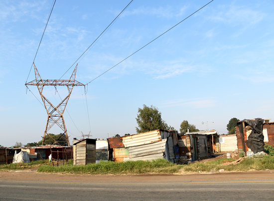 City Power is providing electricity to informal settlement across the City of Johannesburg.