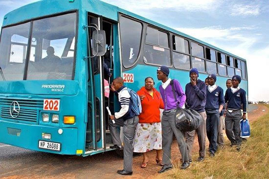 Through the learner transport programme, learners in KwaZulu-Natal have much easier access to education.