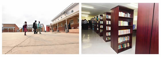 Learners across South Africa will enjoy have access to high quality education in state-of-the-art school infrastucture.