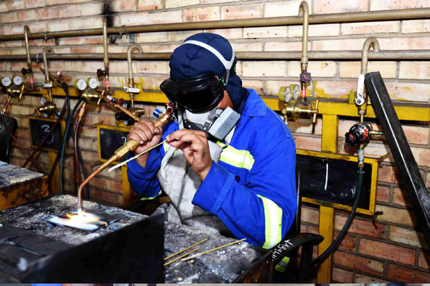 Technical and Vocational Education and Training colleges train students to become artisans and help boost the country's economy.