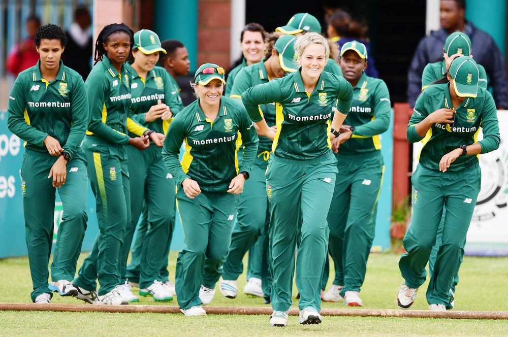 Momentum Proteas will play in the 2017 ICC Women's World Cup in the United Kingdom later this year.