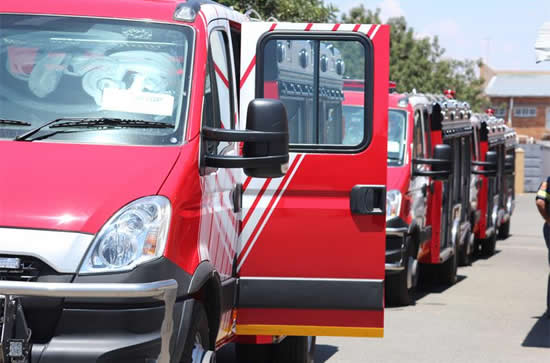 Emergency services on the West Rand, Johannesburg, will service many areas in the district.