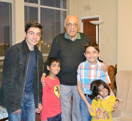 Another attribute of Kathrada was his love for children.
